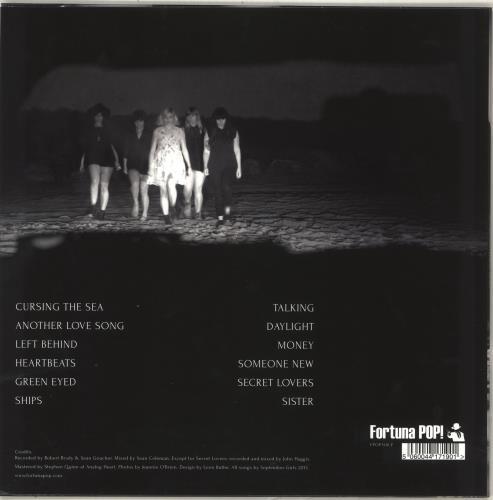 September Girls Cursing The Sea vinyl LP album (LP record) UK ZFRLPCU716293