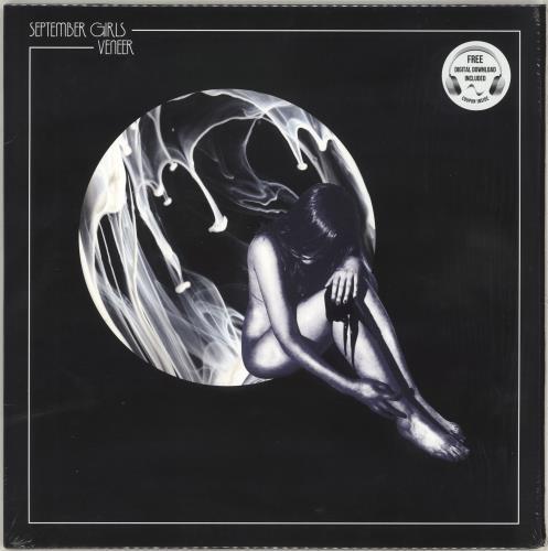 "September Girls Veneer 12"" vinyl single (12 inch record / Maxi-single) UK ZFR12VE716290"