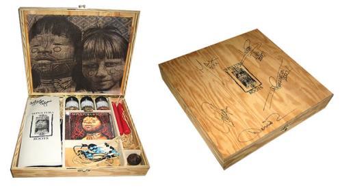 Sepultura Roots Box Set Fully Autographed Uk Promo Cd