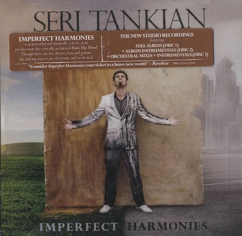 Serj Tankian Imperfect Harmonies 3-CD album set (Triple CD) US SRJ3CIM520844