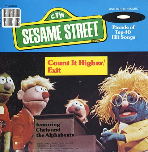 Sesame Street Count It Higher / Exit US 7