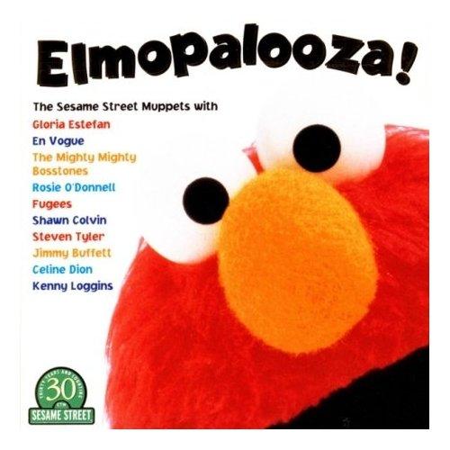 Sesame Street Elmopalooza! US CD album (CDLP) (124946)