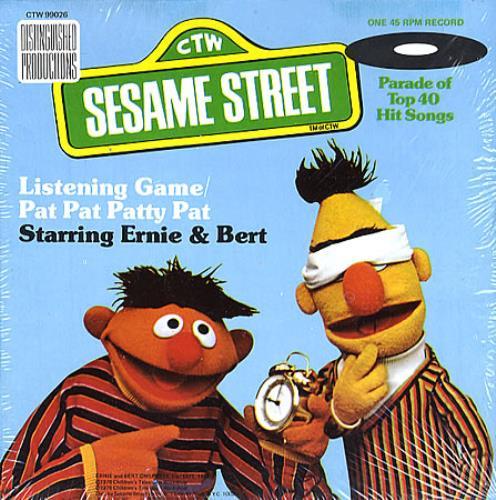 Sesame Street Listening Game / Pat Pat Patty Pat US 7
