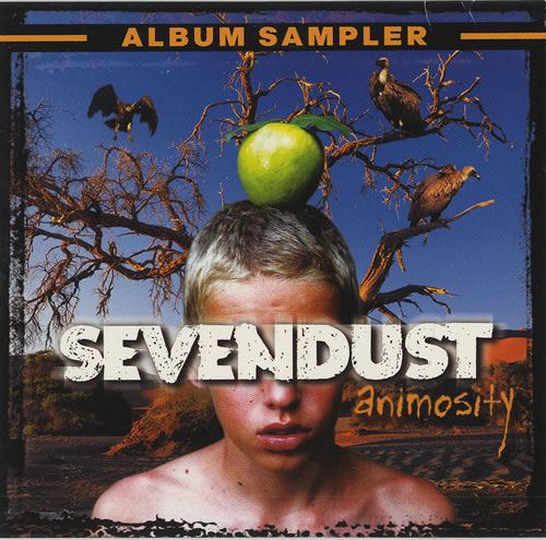 "Sevendust Animosity Album Sampler CD single (CD5 / 5"") US SVDC5AN465966"