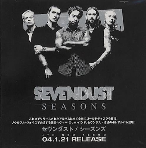 Sevendust Seasons - Special Sampler CD album (CDLP) Japanese SVDCDSE349281