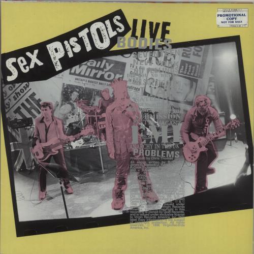 Sex Pistols Filthy Lucre Live - Promo stickered vinyl LP album (LP record) UK SEXLPFI682710