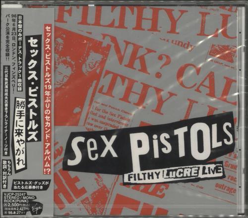 Sex Pistols Filthy Lucre Live CD album (CDLP) Japanese SEXCDFI118746