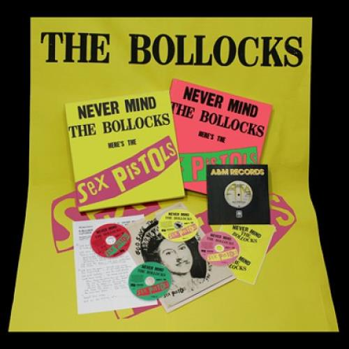 Sex Pistols Never Mind The Bollocks, Here's The Sex Pistols box set UK SEXBXNE574054