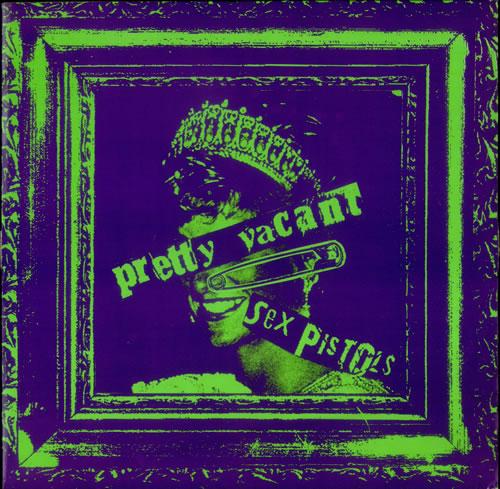 """Sex Pistols Pretty Vacant 12"""" vinyl single (12 inch record / Maxi-single) UK SEX12PR82424"""