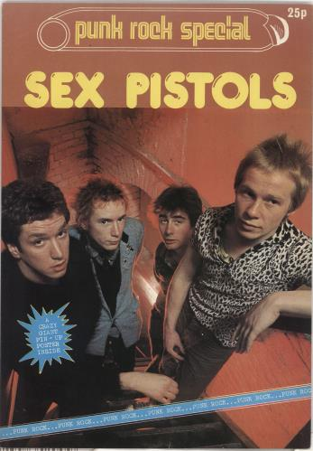 Sex Pistols Punk Rock Special magazine UK SEXMAPU347286