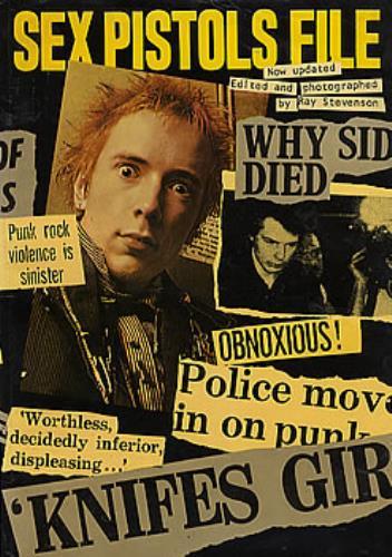 Sex Pistols Sex Pistols File book UK SEXBKSE291068