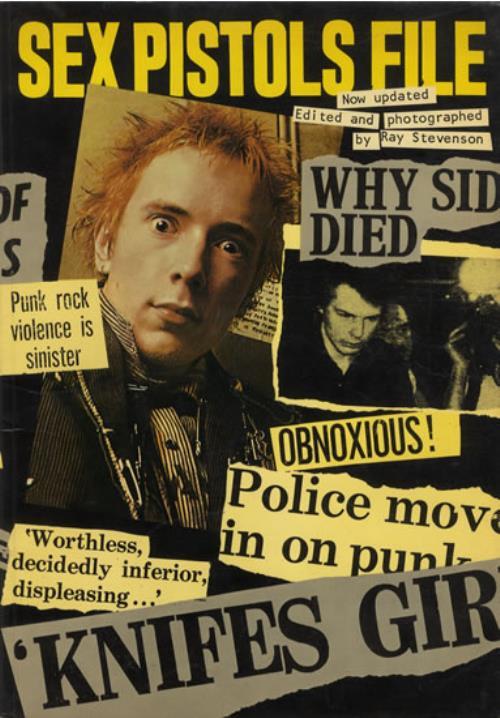 Sex Pistols Sex Pistols File book UK SEXBKSE583664