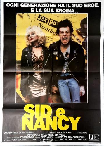 Sex Pistols Sid E Nancy poster Italian SEXPOSI775534