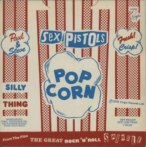 "Sex Pistols Silly Thing + Sleeve 7"" vinyl single (7 inch record) UK SEX07SI49876"