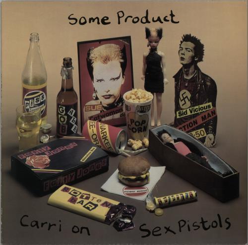 Sex Pistols Some Product vinyl LP album (LP record) UK SEXLPSO313452