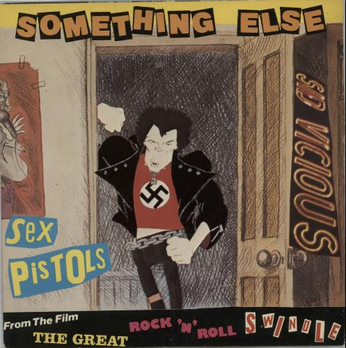 "Sex Pistols Something Else + Sleeve 7"" vinyl single (7 inch record) UK SEX07SO32304"