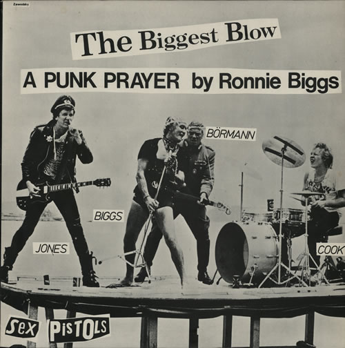 "Sex Pistols The Biggest Blow 12"" vinyl single (12 inch record / Maxi-single) UK SEX12TH567011"