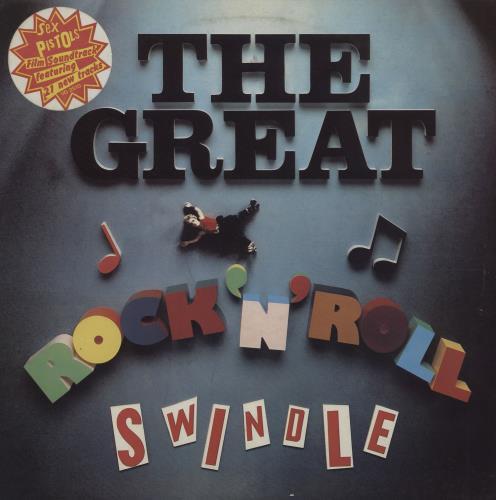 Sex Pistols The Great Rock 'N' Roll Swindle + Insert & Stickers 2-LP vinyl record set (Double Album) UK SEX2LTH98807