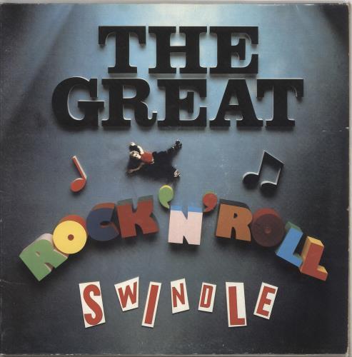 Sex Pistols The Great Rock 'N' Roll Swindle 2-LP vinyl record set (Double Album) UK SEX2LTH428908
