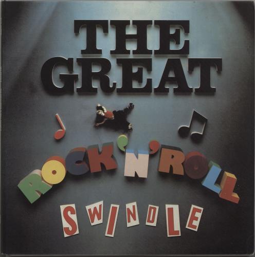 Sex Pistols The Great Rock 'n Roll Swindle 2-LP vinyl record set (Double Album) Italian SEX2LTH666712