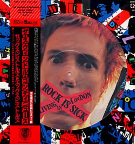 Sex Pistols The Swindle Continues picture disc LP (vinyl picture disc album) Japanese SEXPDTH140848