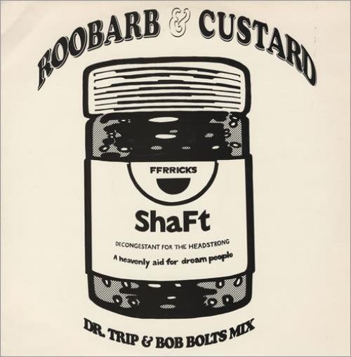 "Shaft Roobarb & Custard 12"" vinyl single (12 inch record / Maxi-single) UK HAF12RO431914"