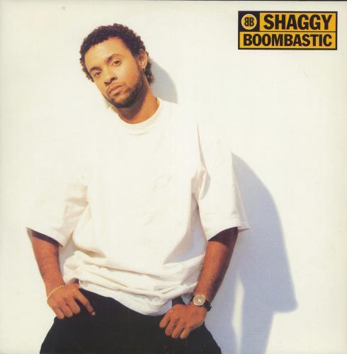 "Shaggy Boombastic 12"" vinyl single (12 inch record / Maxi-single) UK GGY12BO196334"