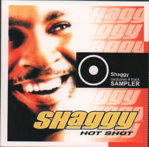 "Shaggy Hot Shot CD single (CD5 / 5"") UK GGYC5HO196880"