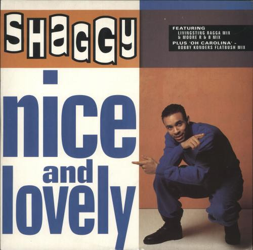 "Shaggy Nice & Lovely 12"" vinyl single (12 inch record / Maxi-single) UK GGY12NI705429"