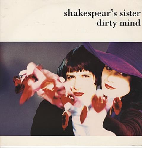 "Shakespear's Sister Dirty Mind 12"" vinyl single (12 inch record / Maxi-single) UK SIS12DI58082"