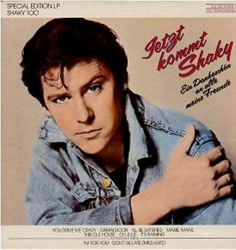 Shakin' Stevens Jetzt Kommt Shaky vinyl LP album (LP record) German STVLPJE28002