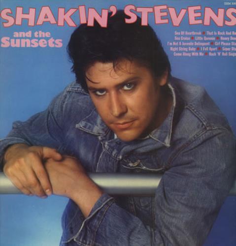 Shakin Stevens Shakin Stevens Amp The Sunsets Uk Vinyl Lp