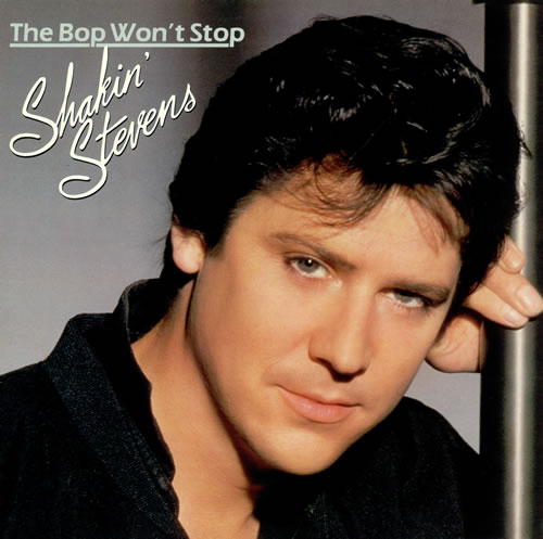 Shakin' Stevens The Bop Won't Stop vinyl LP album (LP record) UK STVLPTH171429