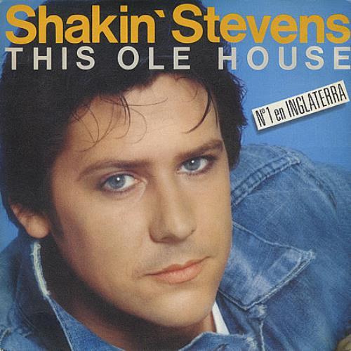 Shakin Stevens This Ole House Spanish Promo 7 Quot Vinyl