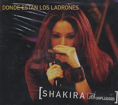 Shakira Donde Estan Los Ladrones Mexican Promo Cd Single