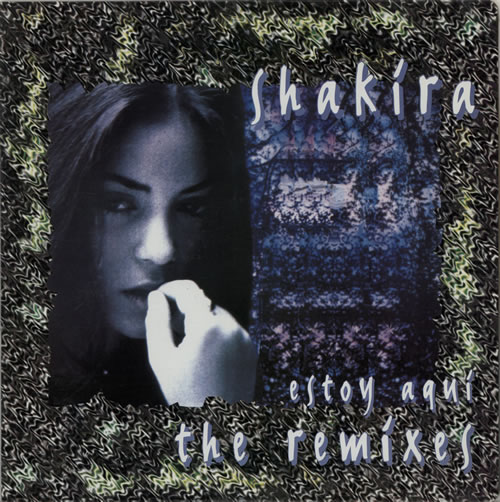 "Shakira Estoy Aqui - The Remixes 12"" vinyl single (12 inch record / Maxi-single) Colombian IKA12ES267296"
