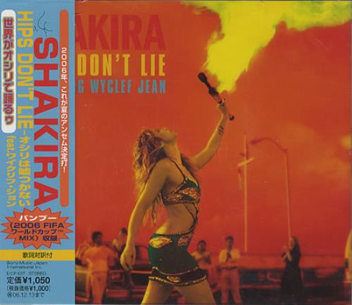 Shakira Hips Don T Lie Japanese Cd Single Cd5 5 Quot 369277