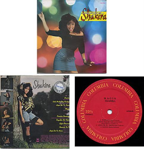 Shakira Magia Promo Stamped Label Amp Sleeve Colombian