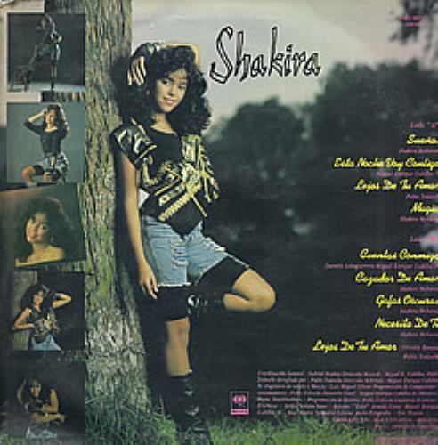Shakira Magia Promo Stamped Colombian Vinyl Lp Album Lp
