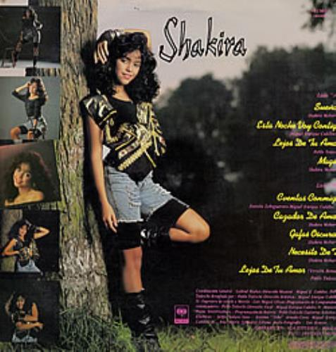 Shakira Magia vinyl LP album (LP record) Colombian IKALPMA235273