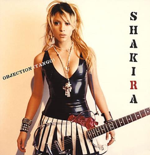 """Shakira Objection [Tango] 12"""" vinyl single (12 inch record / Maxi-single) Dutch IKA12OB294252"""