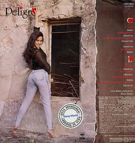 Shakira Peligro Colombian Vinyl Lp Album Lp Record 237126