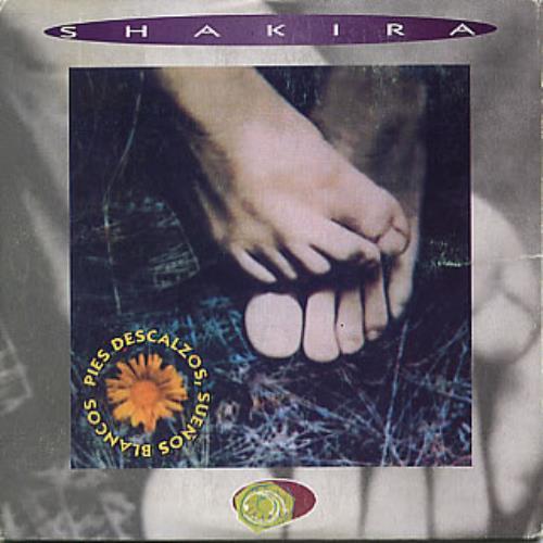 "Shakira Pies Descalzos, Suenos Blancos CD single (CD5 / 5"") Spanish IKAC5PI289565"
