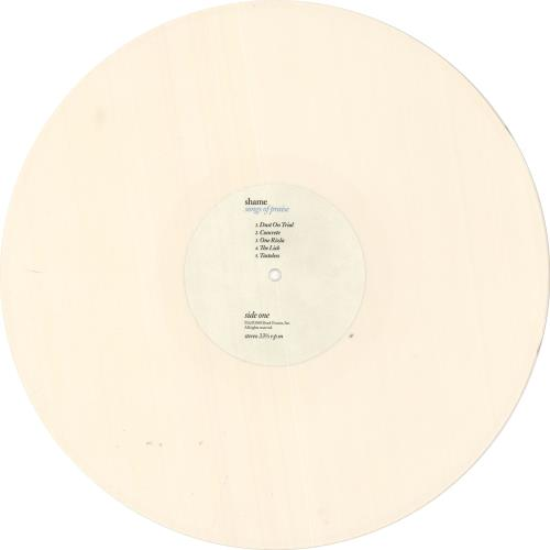 Shame Songs Of Praise - Beige Opaque Vinyl + Bonus CD vinyl LP album (LP record) UK YHDLPSO733759