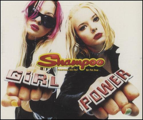 "Shampoo Girl Power CD single (CD5 / 5"") UK SPOC5GI69186"