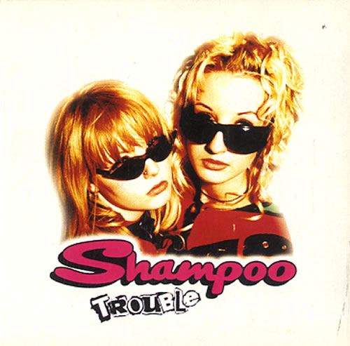 "Shampoo Trouble CD single (CD5 / 5"") Dutch SPOC5TR626756"