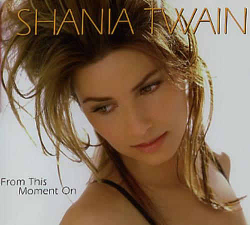 Shania Twain From This Moment On Australian Cd Single Cd5