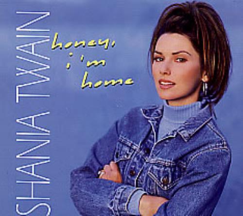 Shania Twain Honey I M Home Us Promo Cd Single Cd5 5