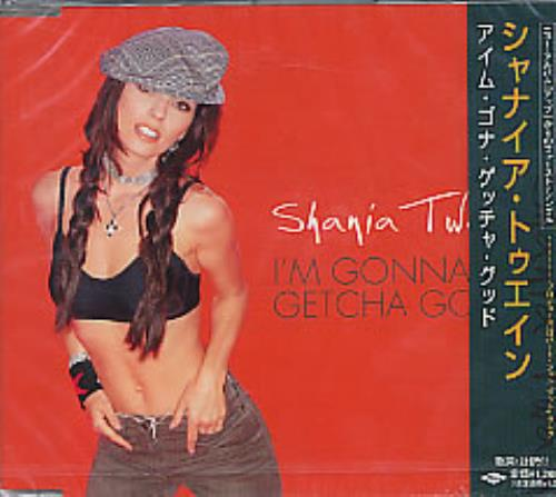 "Shania Twain I'm Gonna Getcha Good! CD single (CD5 / 5"") Japanese SIAC5IM236885"
