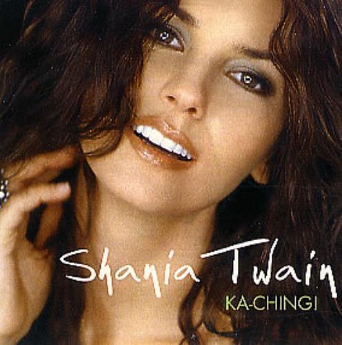 Shania Twain Ka Ching Spanish Promo Cd Single Cd5 5